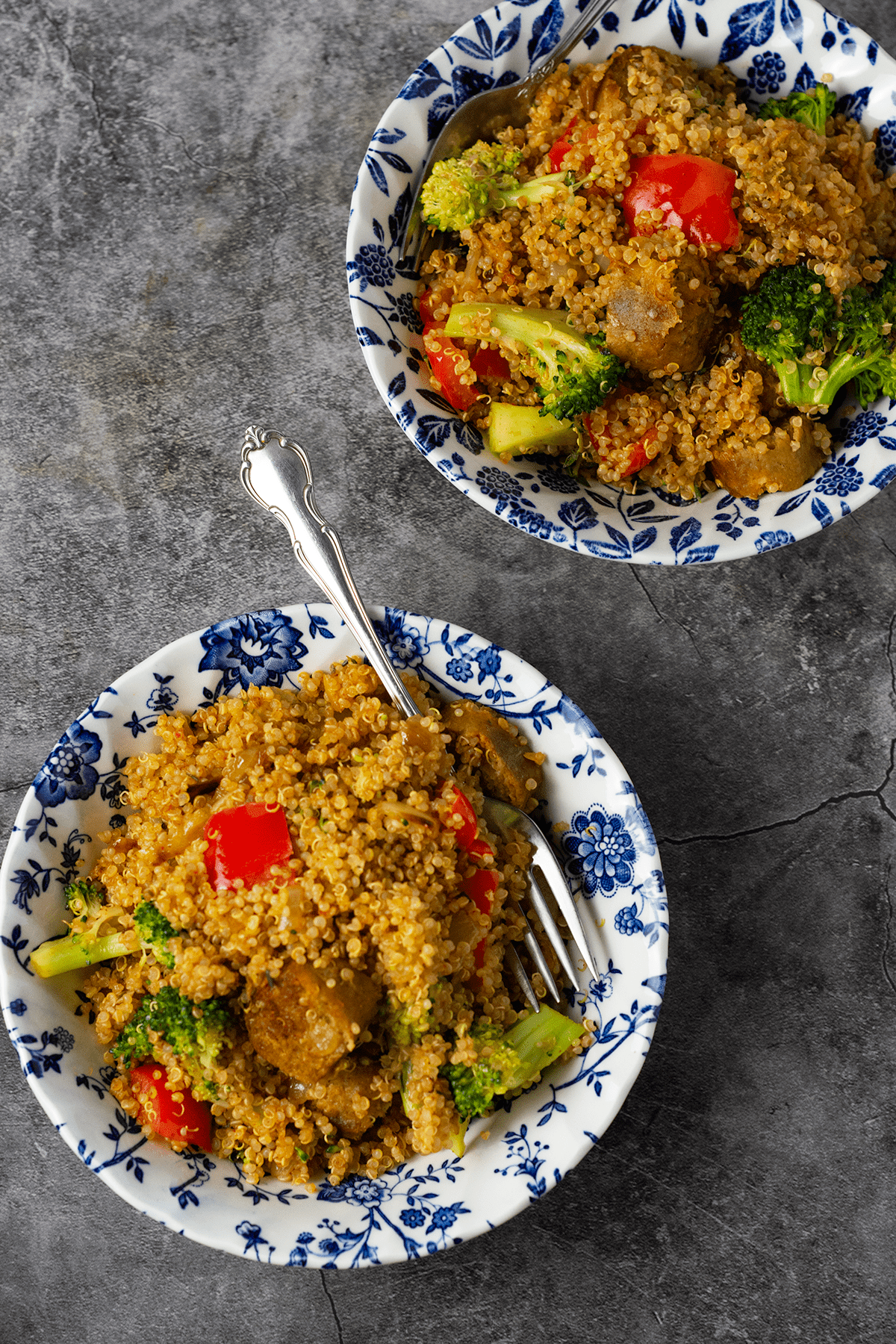 Italian Quinoa Fried Rice Healthier Steps