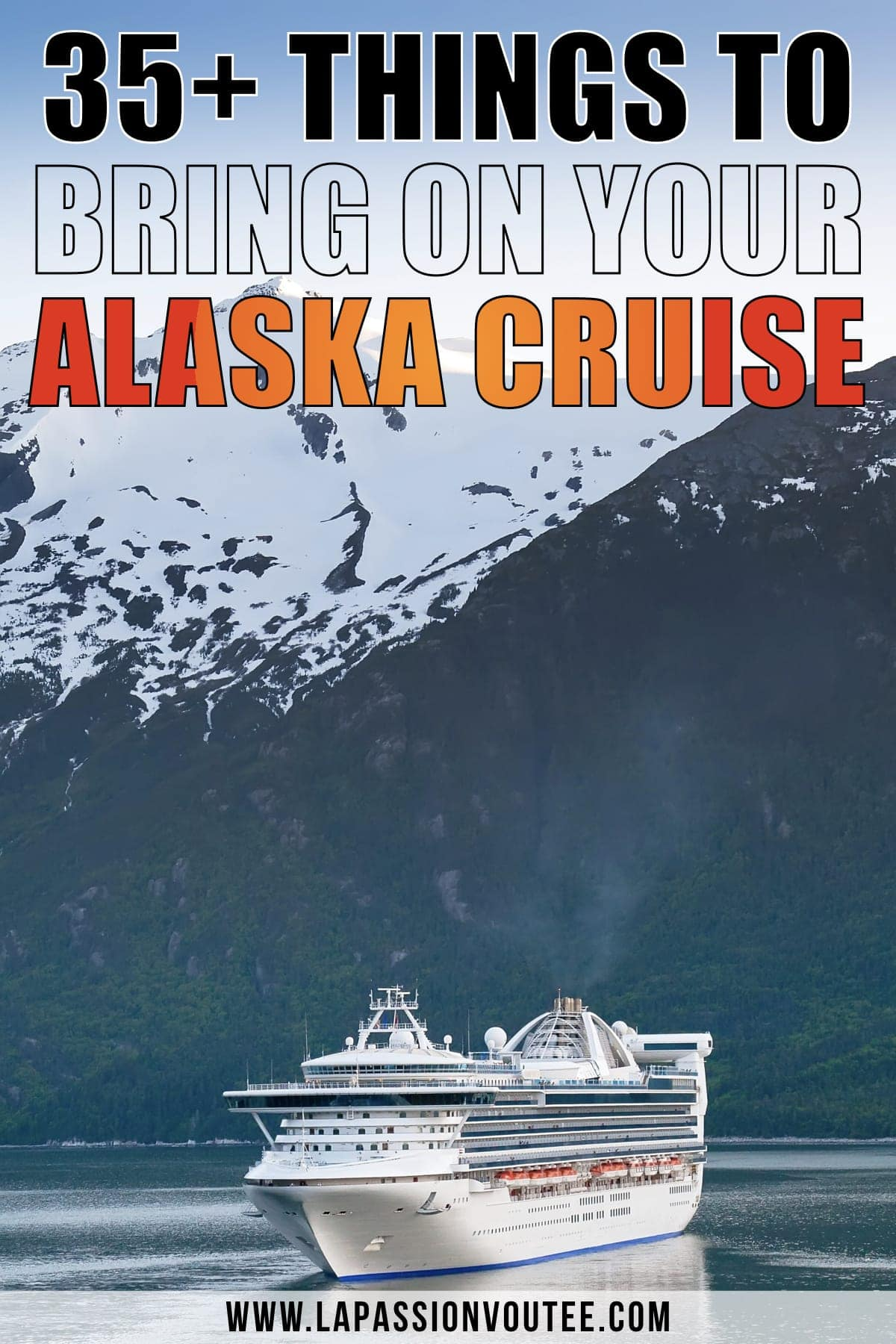 Wondering about what to pack for your Alaska cruise? I live in Alaska and I've covered everything you need for your vacation and things to take on a cruise to Alaska.