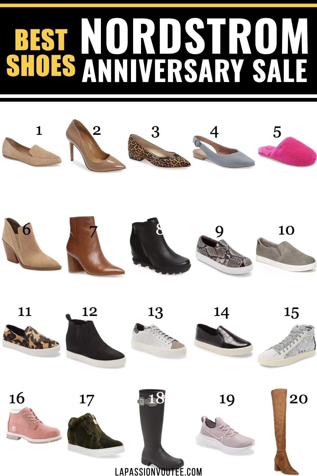 Must-have Nordstrom Anniversary Sale shoes worth getting this year.