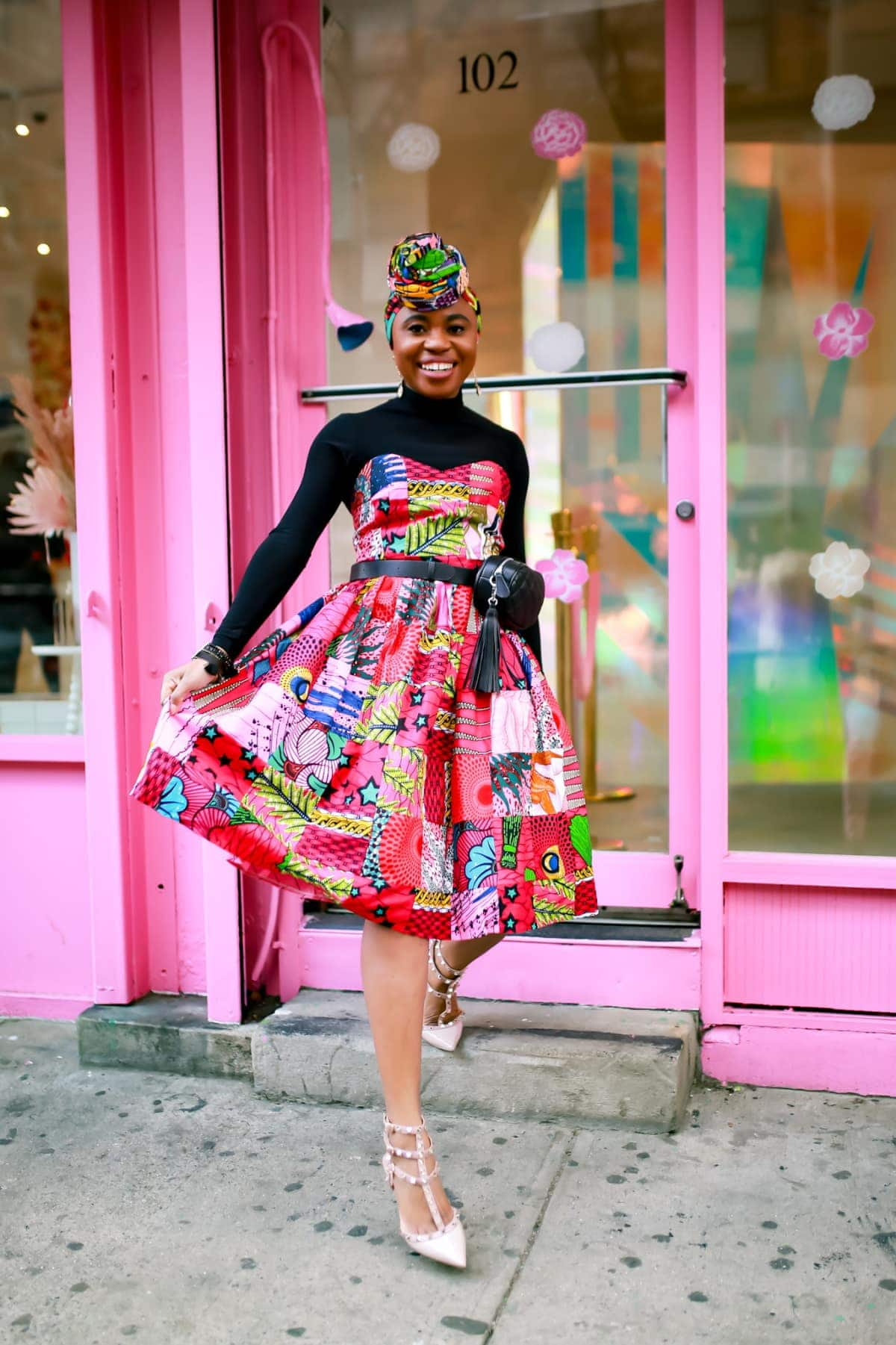 This is the only ankara midi dress you need this year to turn heads at prom, weddings, graduation, and even New York Fashion Week. Here's where to get this breathtaking ankara dress.