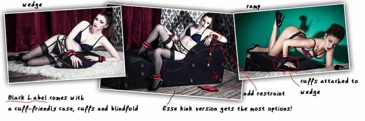 liberator black label bondage sex furniture