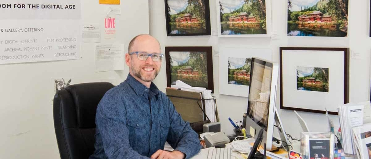 Greg Goodman, Dickerman Prints Marketing director