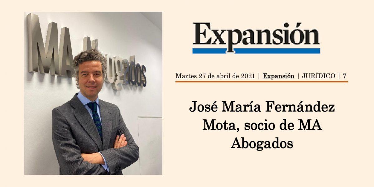 JOSÉ MARÍA FERNÁNDEZ MOTA, SOCIO DE MA ABOGADOS