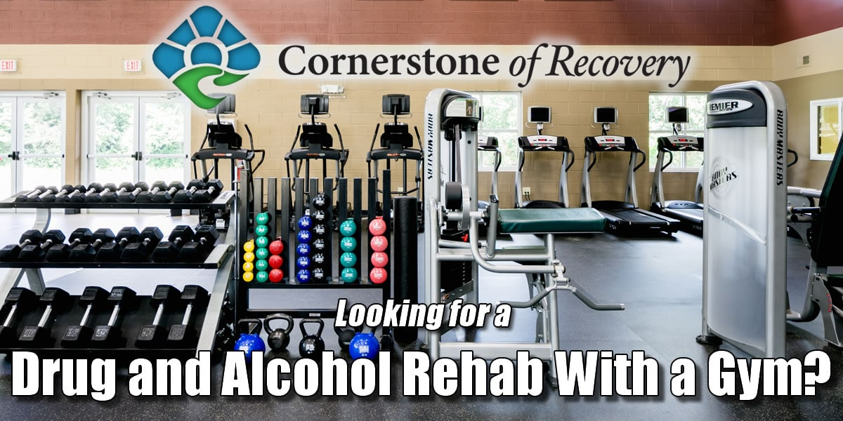 alcohol rehab with a gym