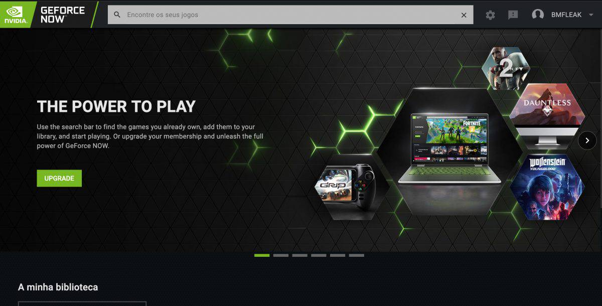 o NVIDIA GeForce Now