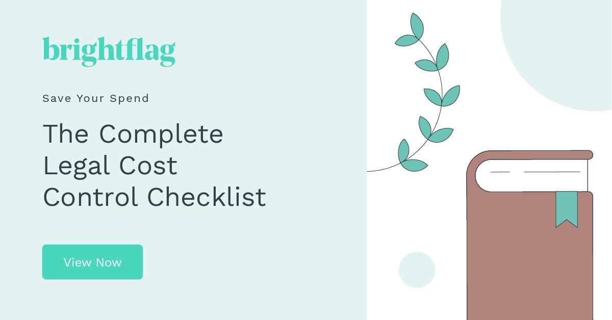 Brightflag Complete Legal Cost Control Checklist