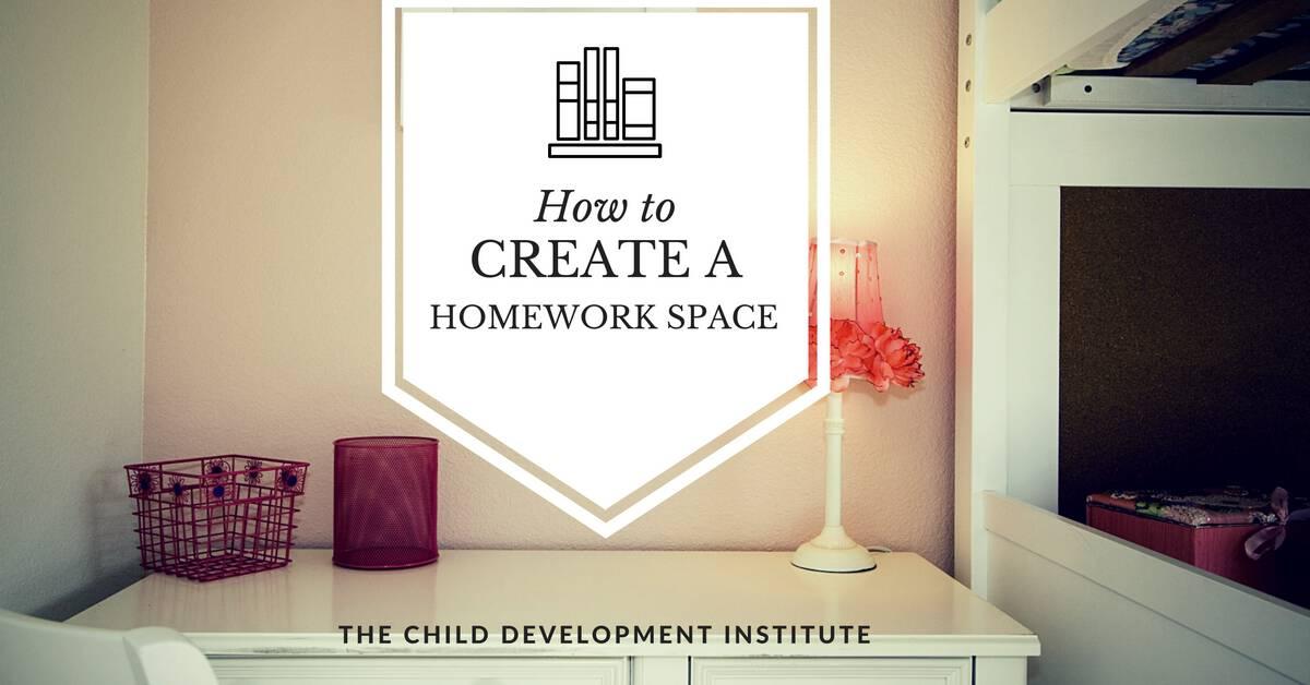 How to Create a Homework Space (1)