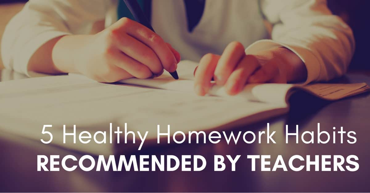 5 Healthy Homework Habits Recommended by Teachers_mini