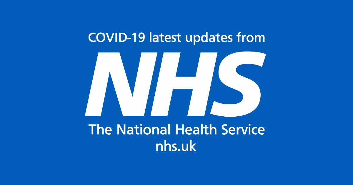 COVID-19 Information and latest updates from NHS