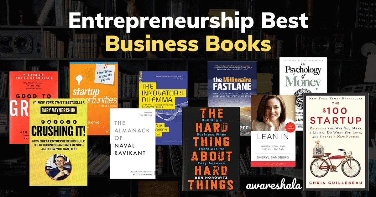 Entrepreneurship Best Business Books
