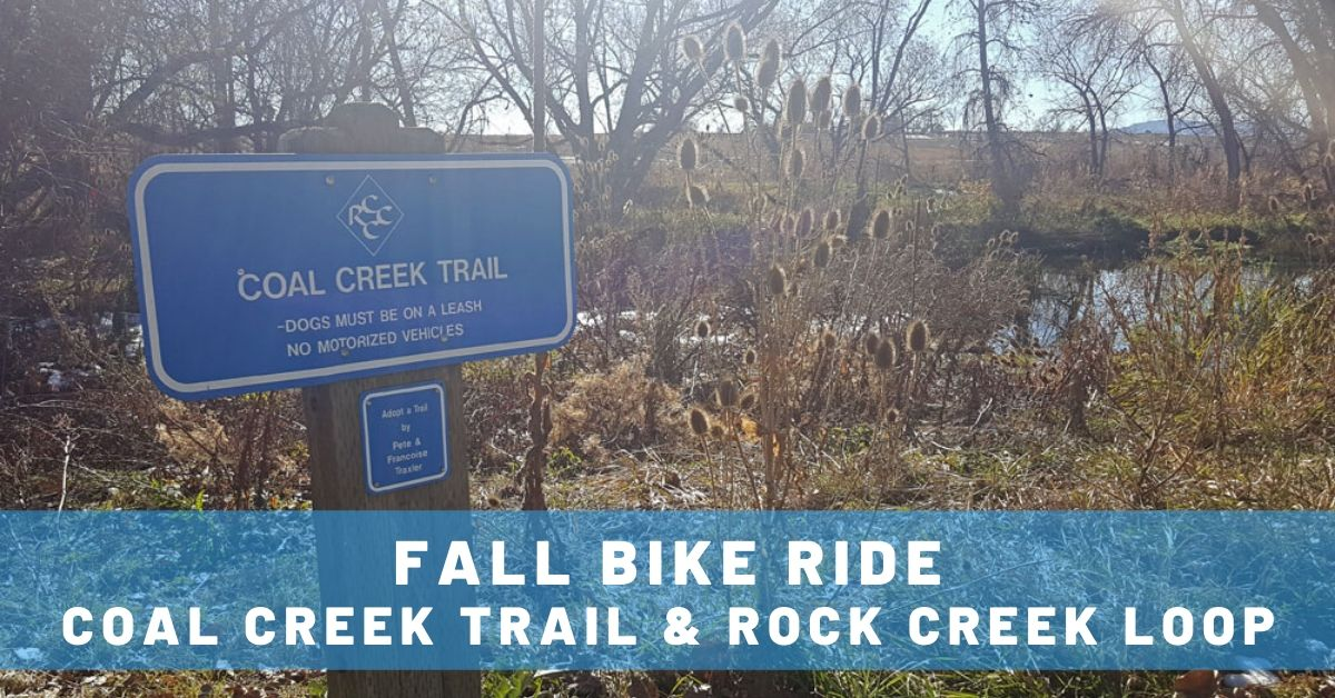 Fall Bike Ride: Coal Creek Trail & Rock Creek Loop