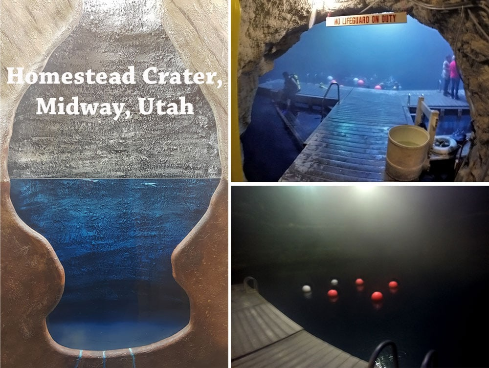 Pros & Cons of Diving Homestead Crater in Midway Utah