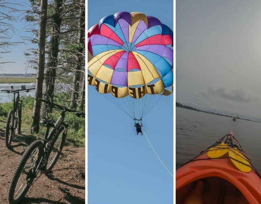 Peddling, Paddling & Parasailing: Best Outdoor Adventures in PEI