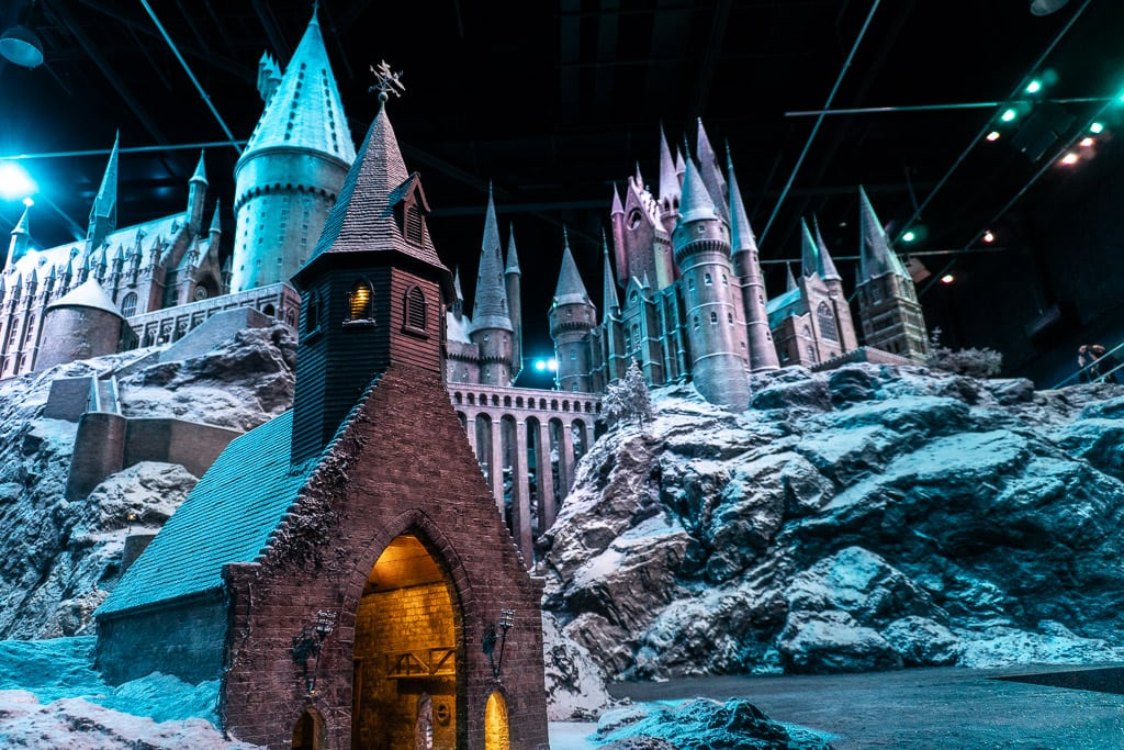 A Trip to Hogwarts at Warner Brothers Studio Tour London