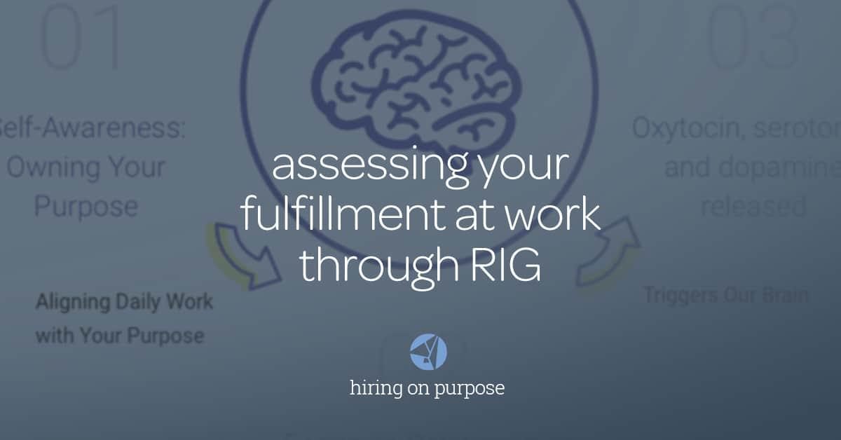 Assessing Your Fulfillment at Work