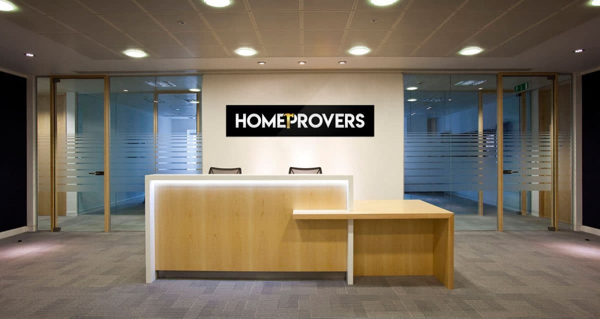 Homeprovers Logo Design Concept