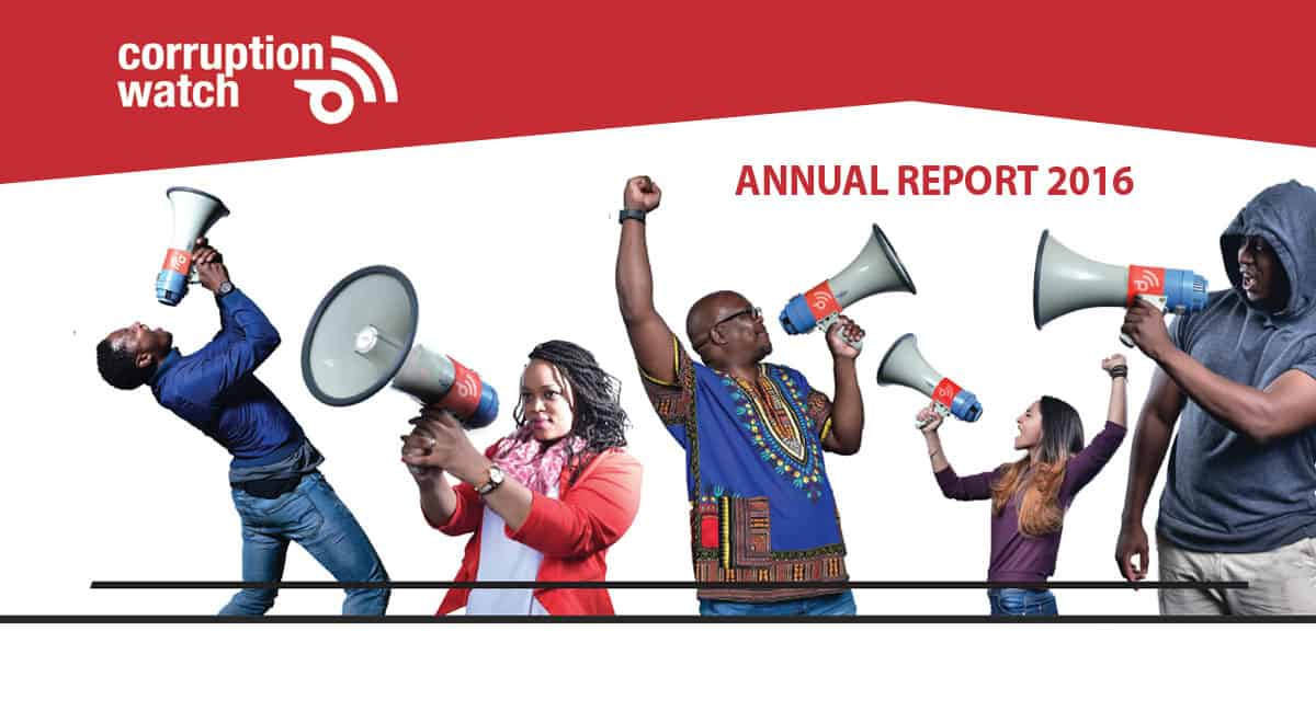 Corruption Watch annual report 2016
