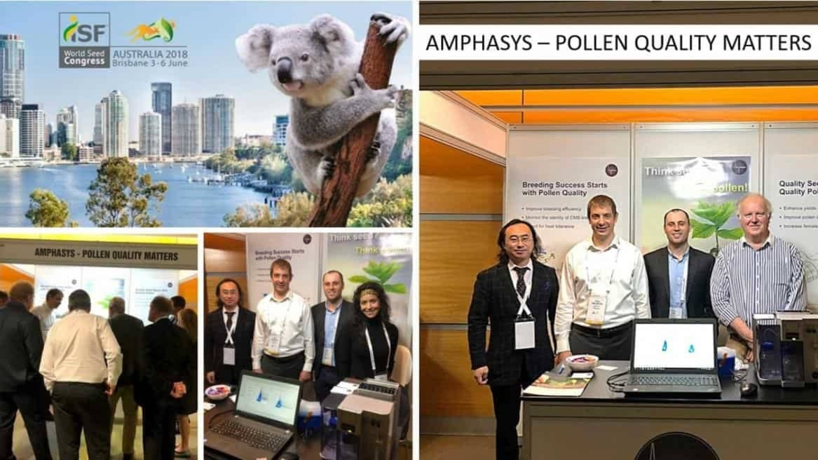 Strong interest in pollen quality monitoring at ISF Brisbane