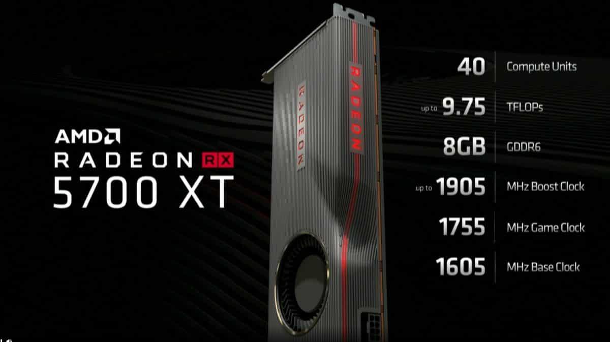 as RX 5700 XT