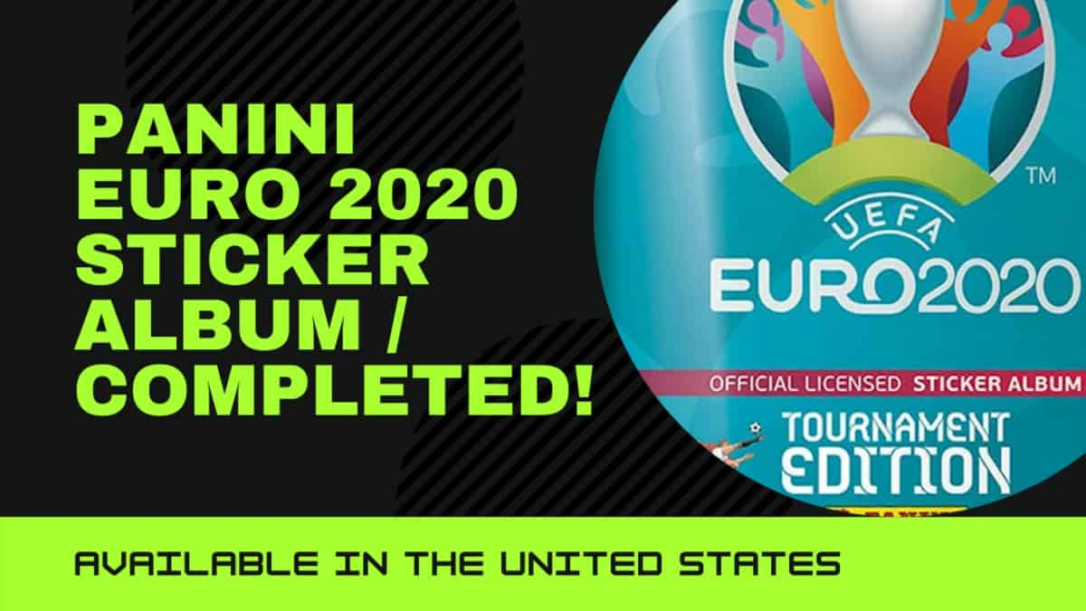 Euro 2020 stickers from Panini