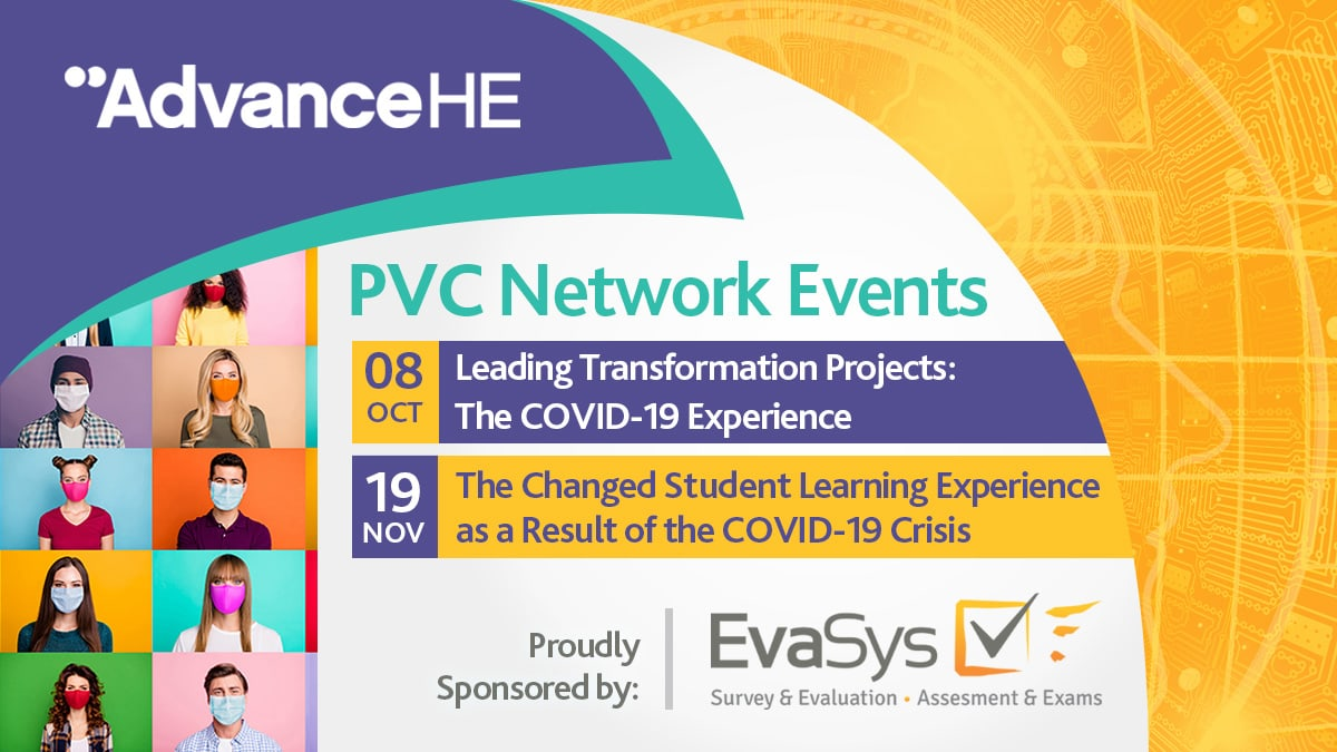 EvaSys sponsors PVC Network Events 2020