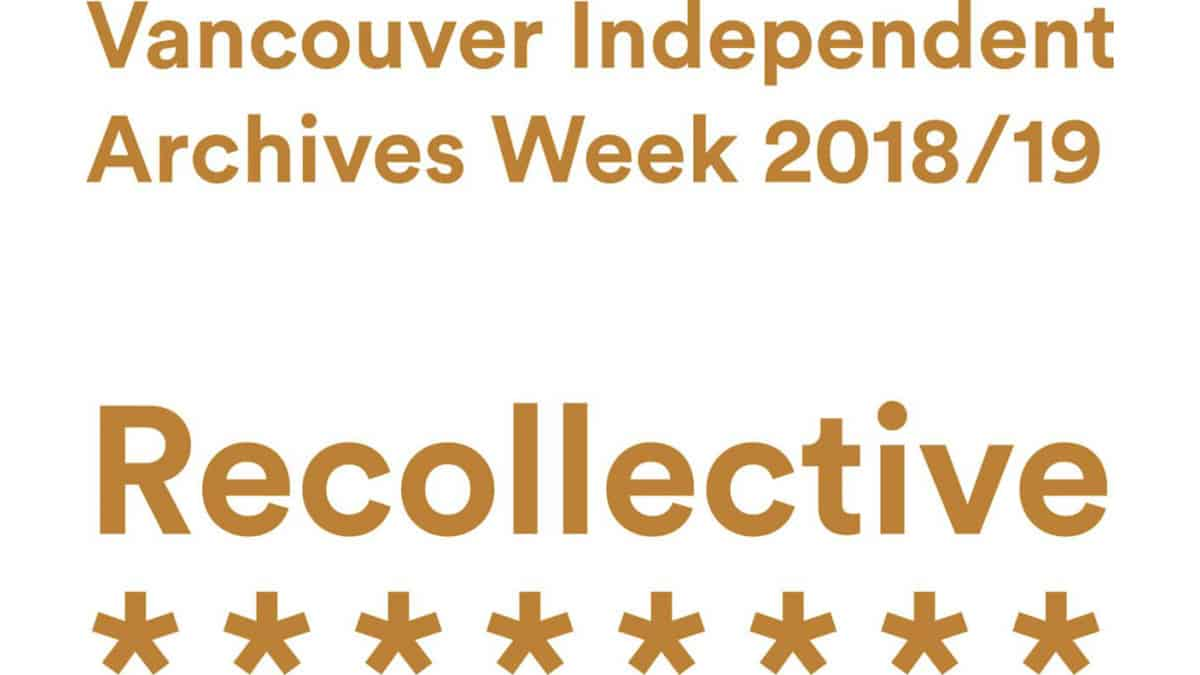Vancouver Independent Archives Week 2018/19