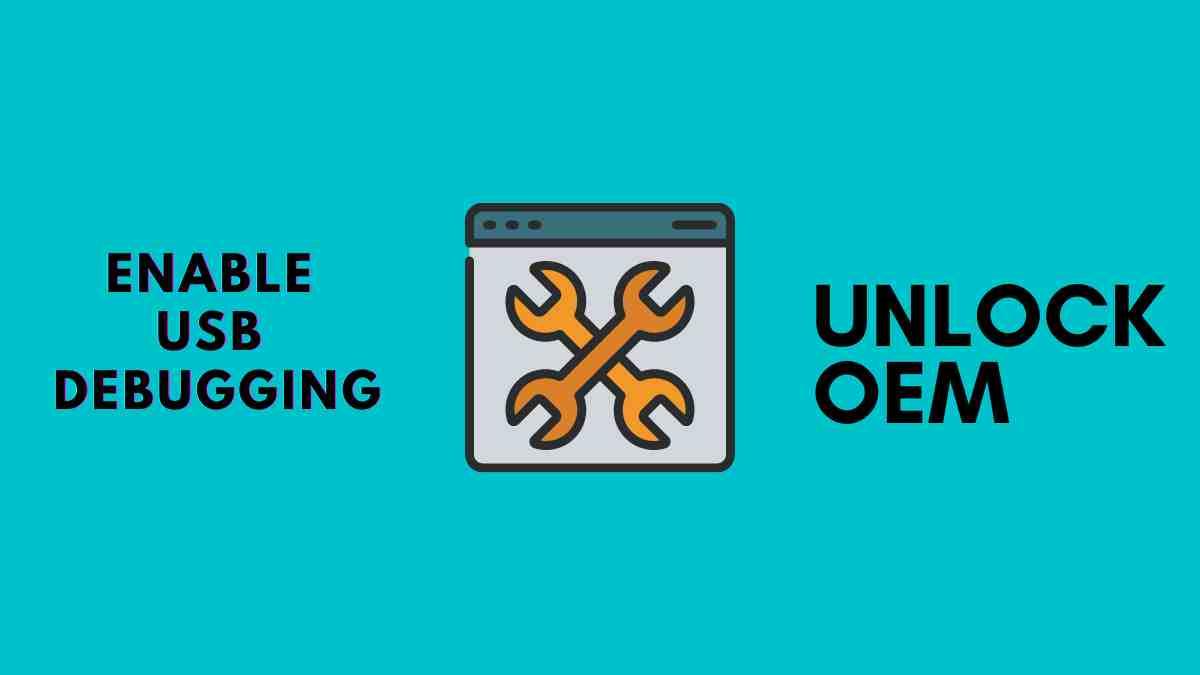 Enable usb Debugging