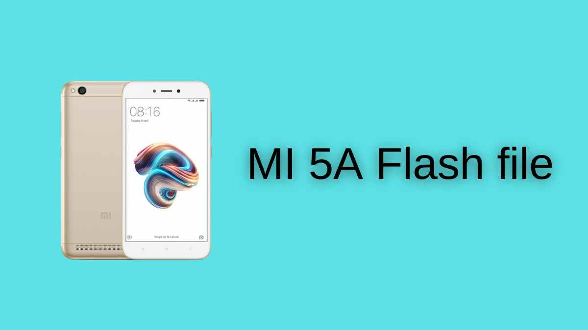 MI 5A Flash file
