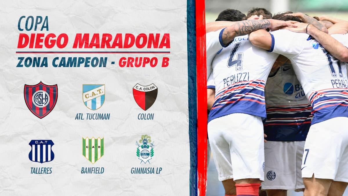 Fixture CASLA Copa Diego Maradona