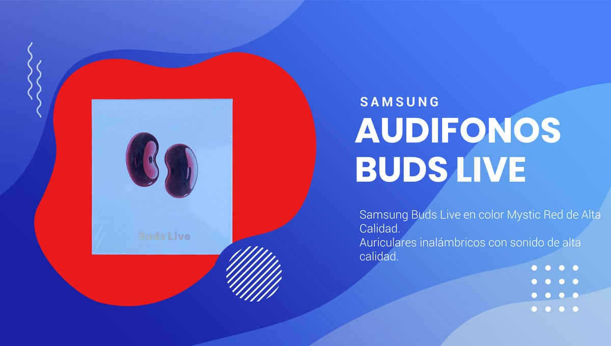 buds live red