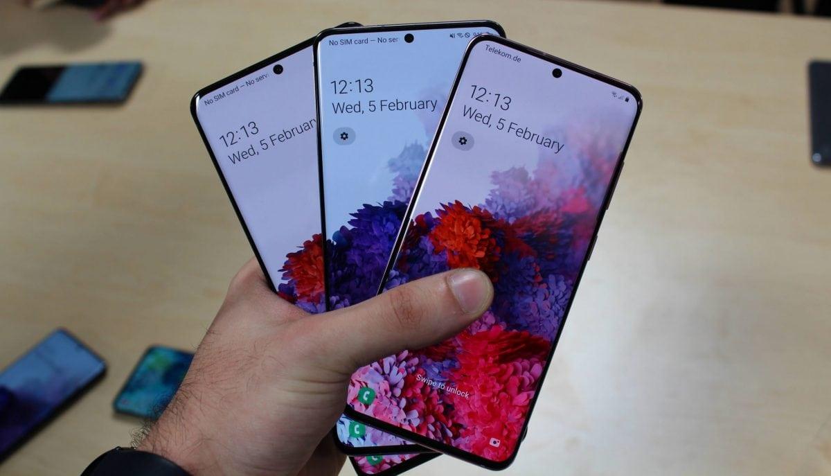 Galaxy S20,smartphones da Samsung