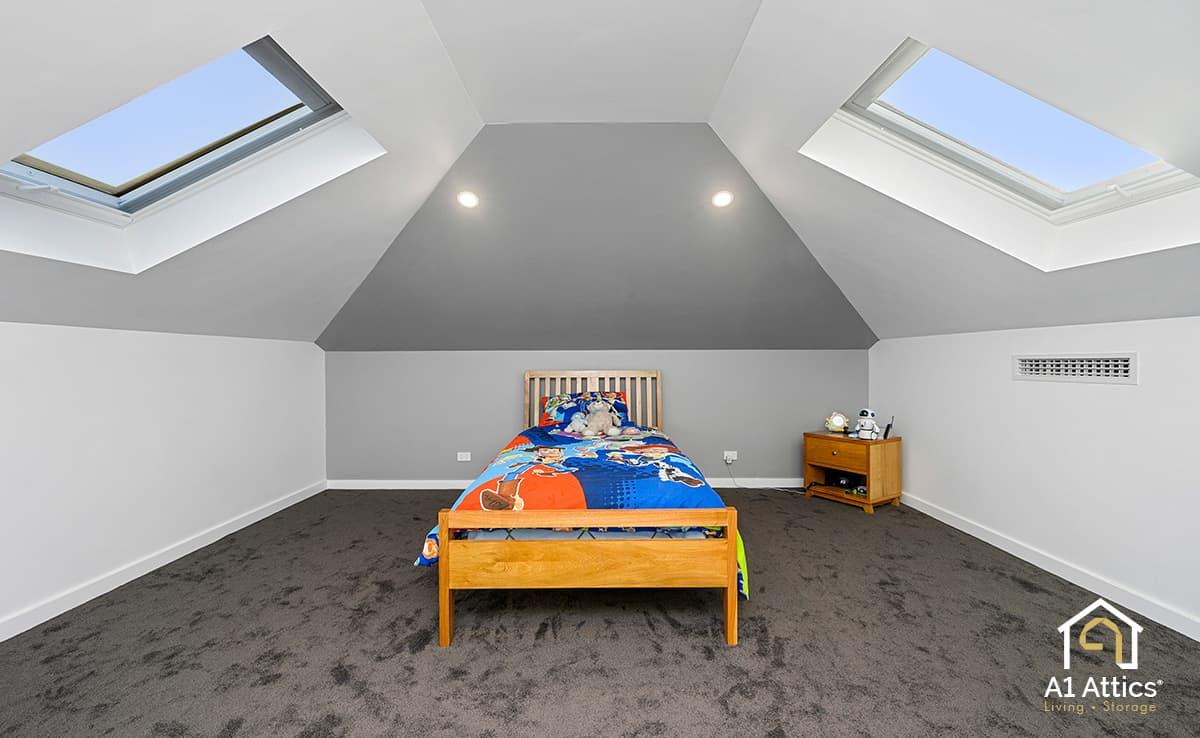 attic conversion bedroom aubin grove