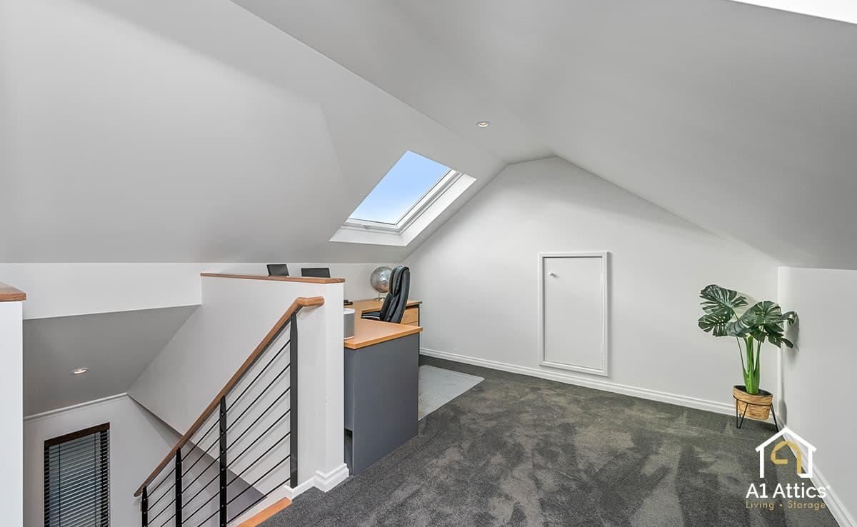attic office conversion