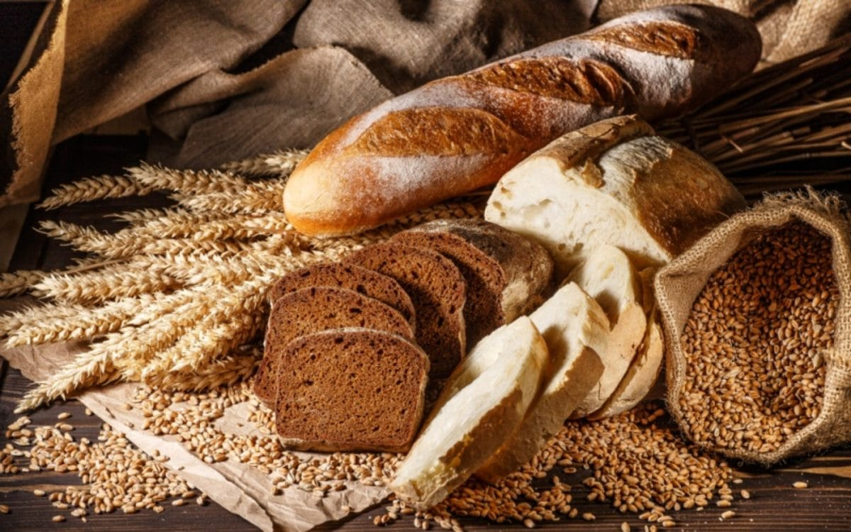 Verschiedene Brote