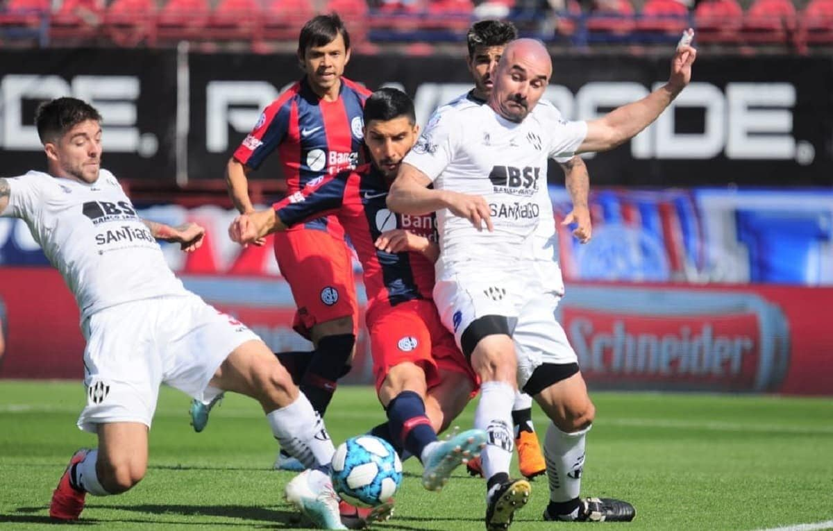 San Lorenzo vs Central Córdoba