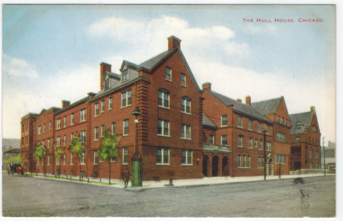Hull House Chicago - Wikipedia - pd