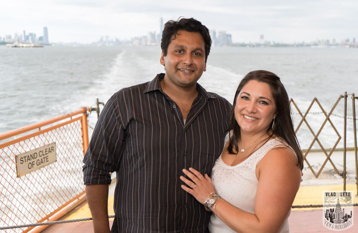 Photo 9 Staten Island Ferry Marriage Proposal | VladLeto