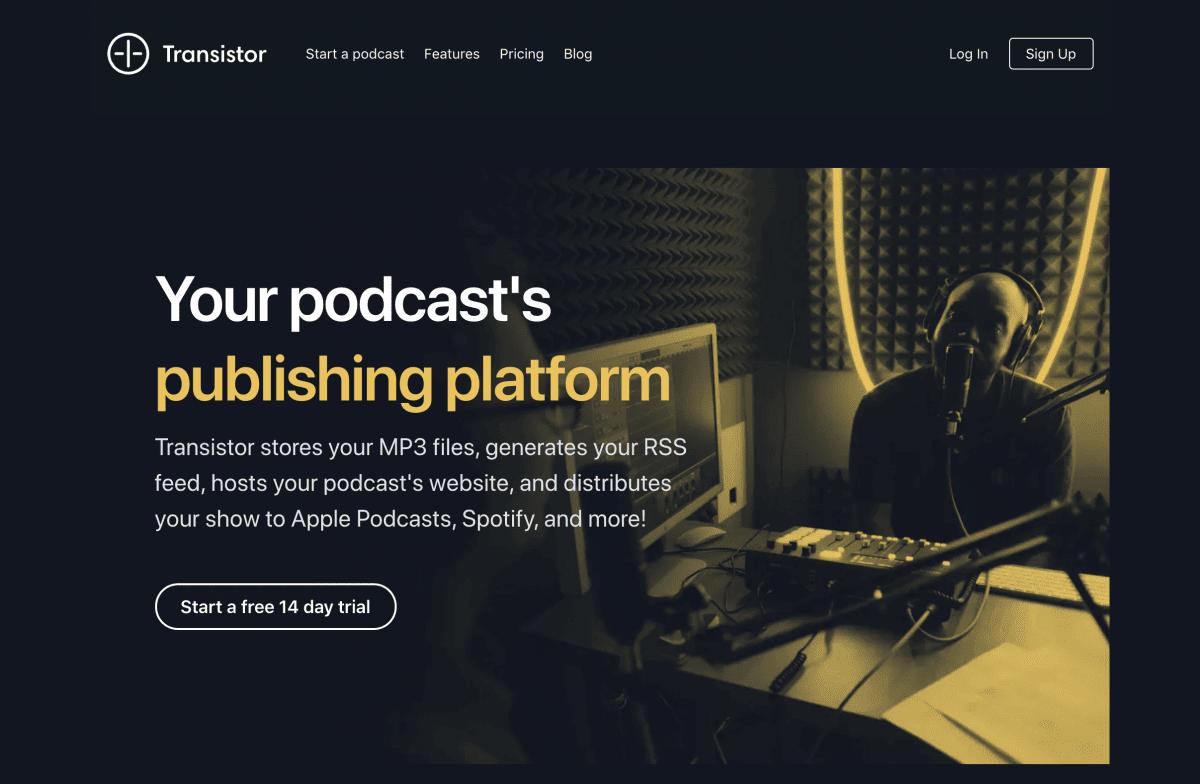 Transistor.fm Podcast Hosting