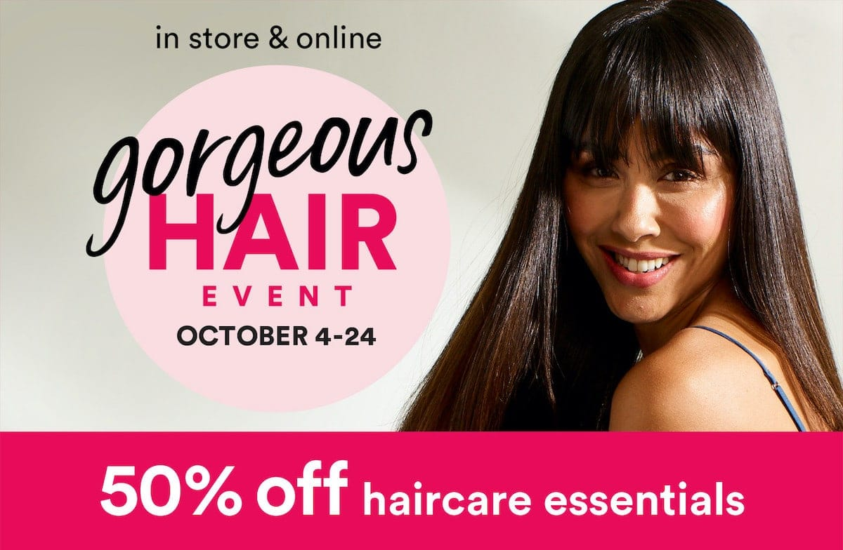 Ulta's Fall 2020 Gorgeous Hair Event sale includes incredible savings on brands like Pureology, Redken, Bosley, Chi, IGK and more.