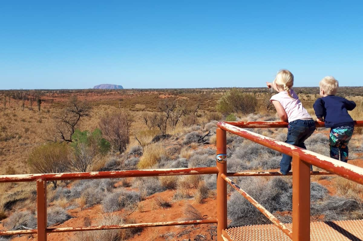 Red Centre Travel Kids