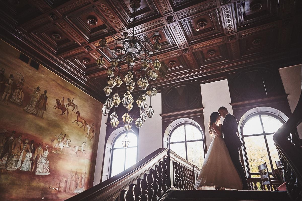 Plener ślubny na zamku w Mosznej 55