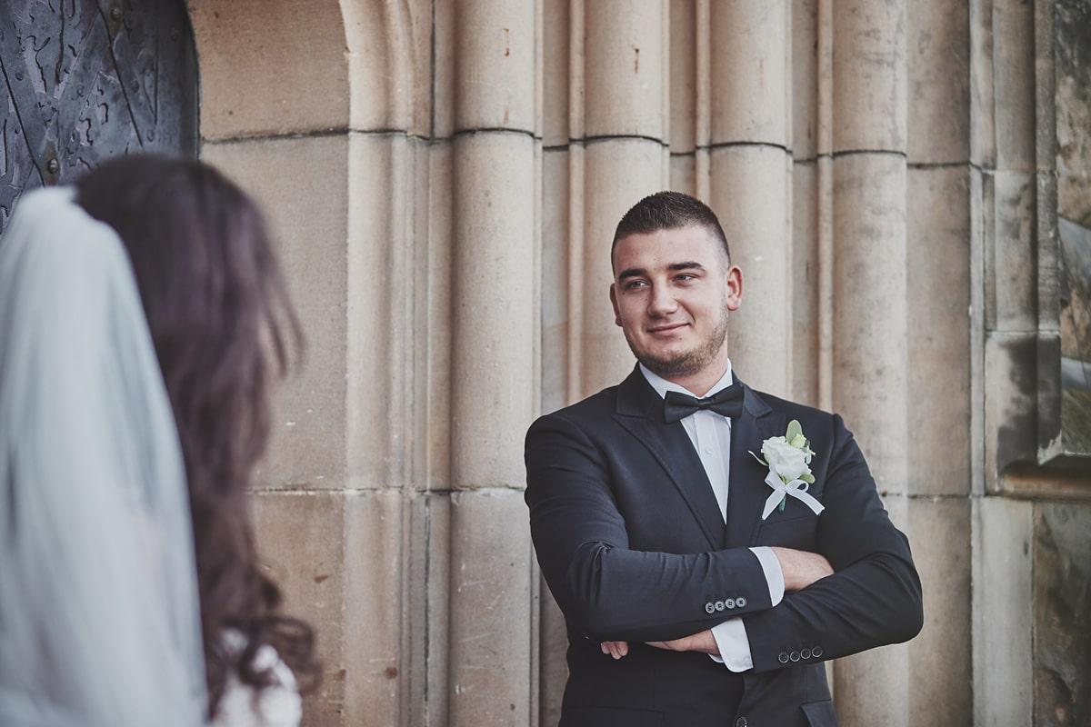 Plener ślubny na zamku w Mosznej 9
