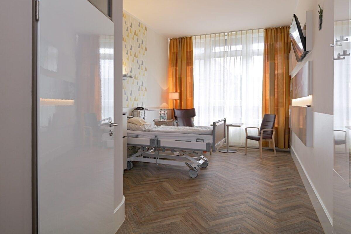 Patientenzimmer im St. Marienhospital