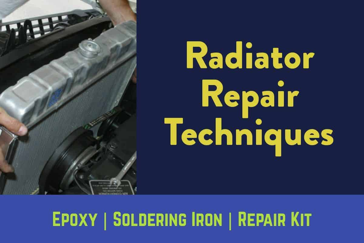 Finding out that your radiator is leaking you may arrive at some suggestion to get your radiator repair problems solved.