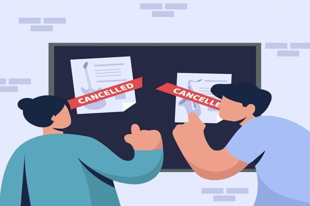 飲食店のキャンセル対応