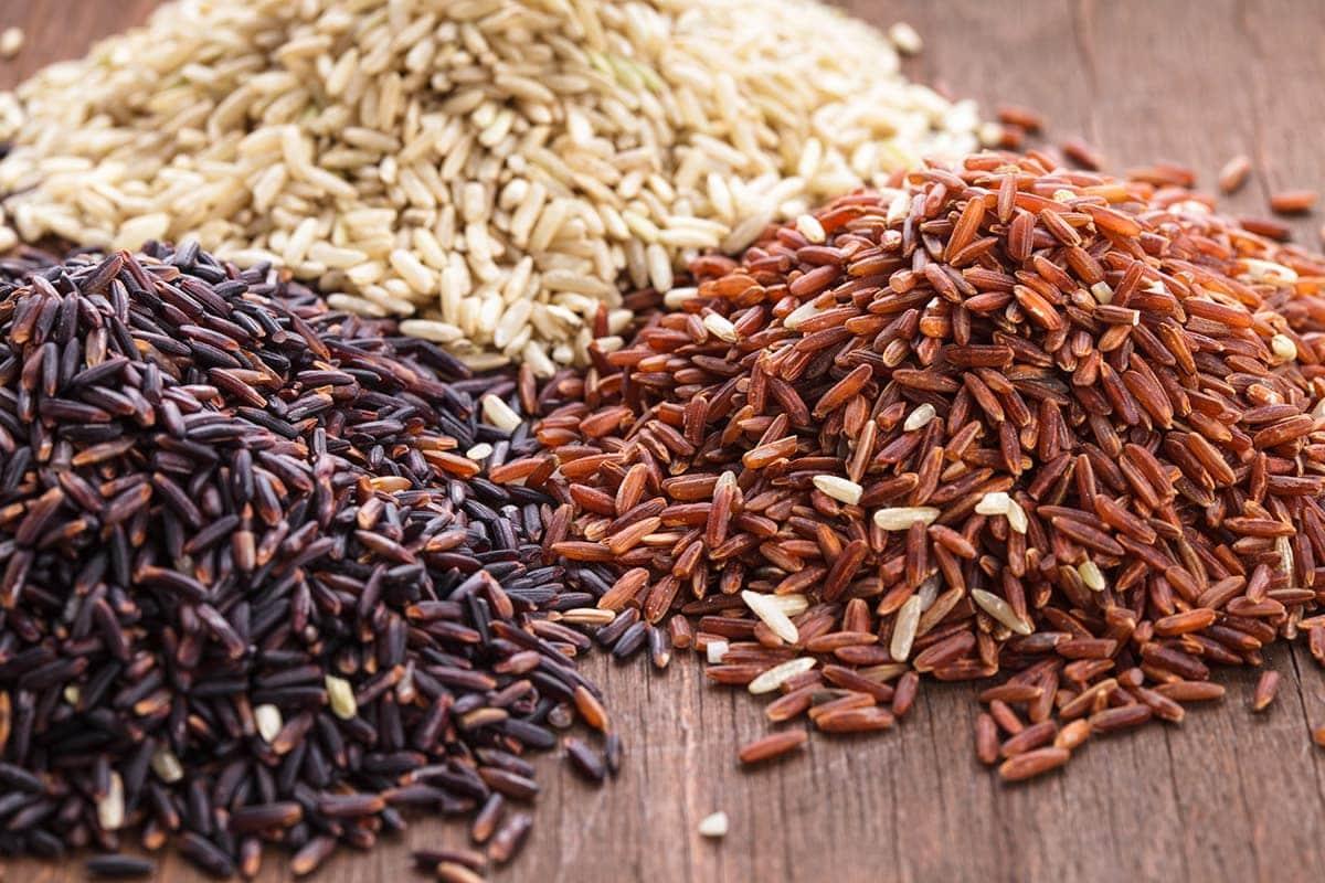 Varieties of brown rice