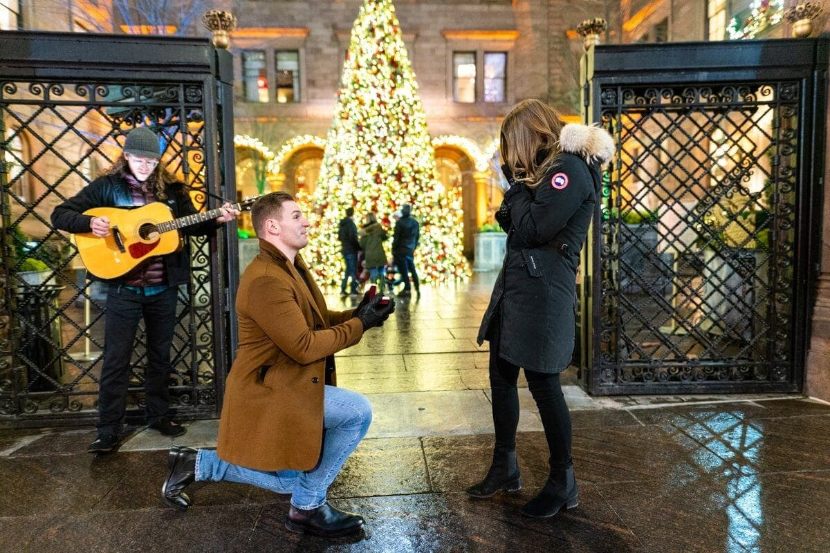 holiday proposal nyc