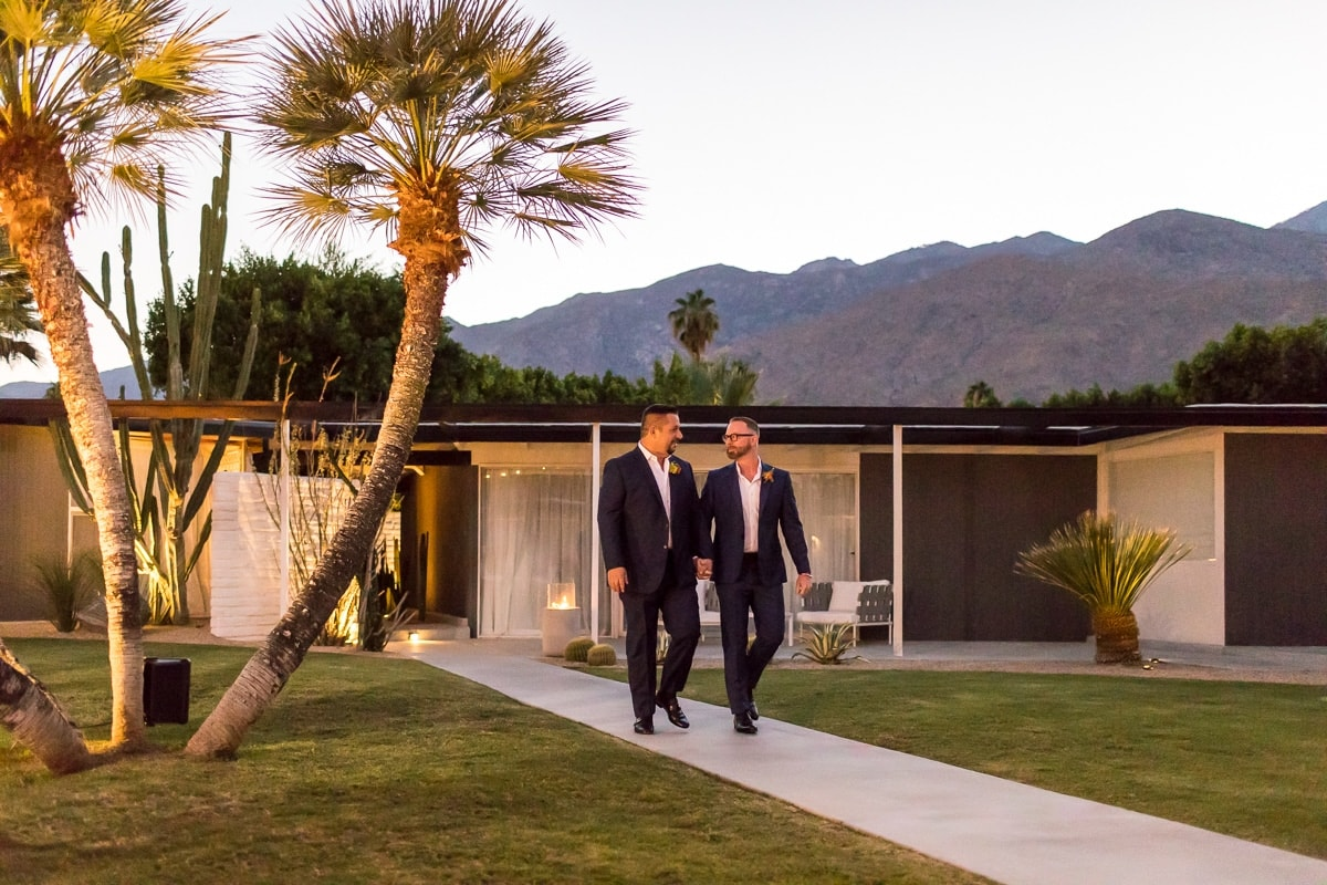 L'Horizon, Palm Springs Wedding