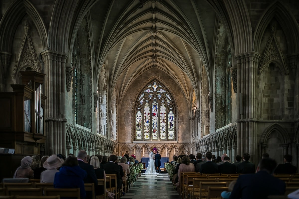 St Albans Abbey Wedding