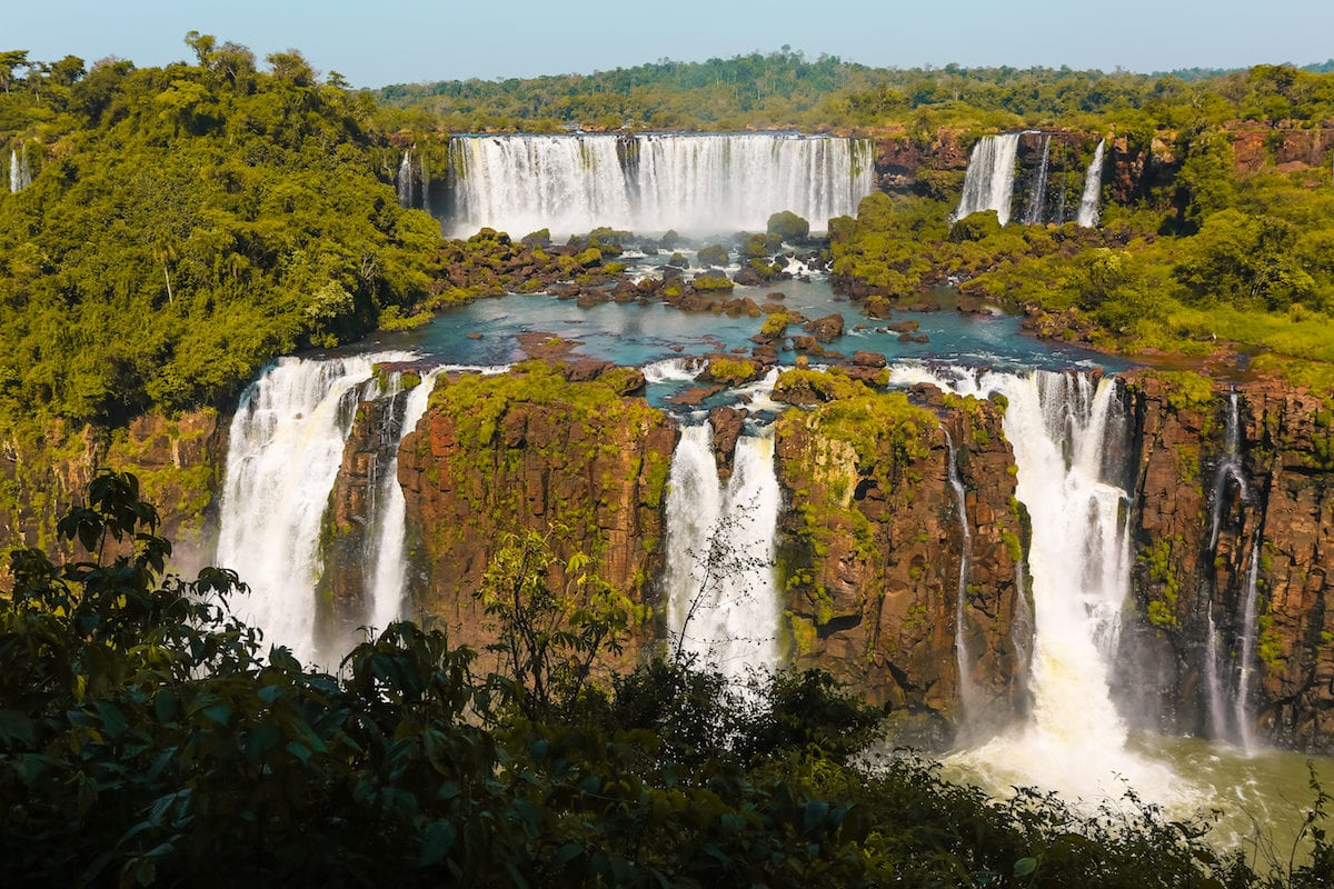 How did we do our trip to Iguazu